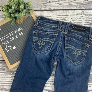 Rock Revival 'Amy' Straight Fit Jeans - 26 x 33